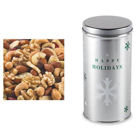 Cranberry Trail Mix in a Snowflake Canister