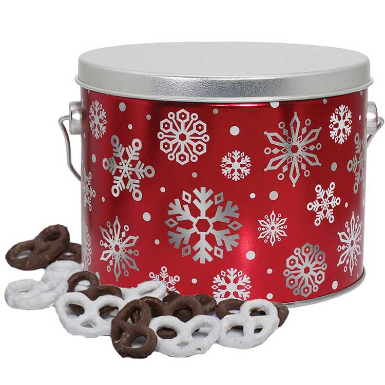 Red Snowflake Pail