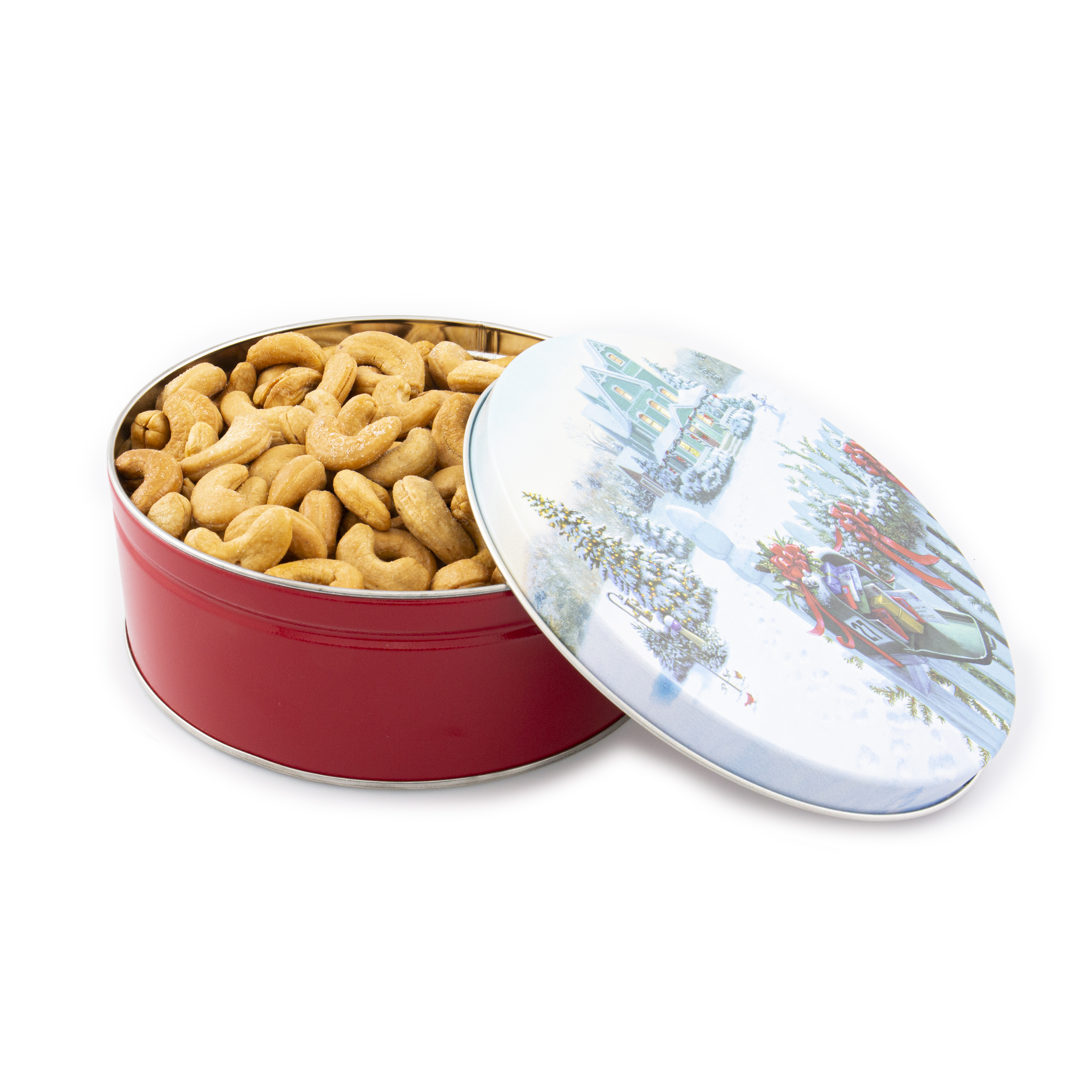 2# Colossal Cashew Christmas Mail Tin
